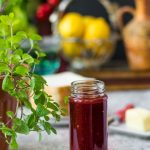 15 min Vegan Chilli Strawberry Jam