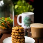 Baked Masala Vada (Chickpea fritters)