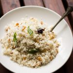 Ready in 20 mins, this Coconut Millet Rice is a fast, simple and flavourful yet low-GI meal. Vegan. Gluten-Free.