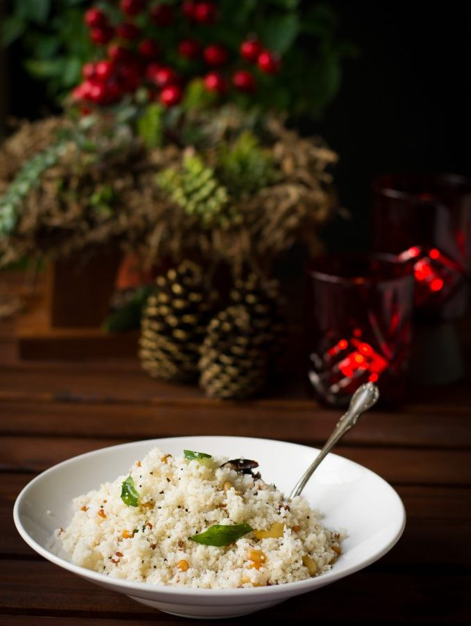 Coconut Millet Fried Rice