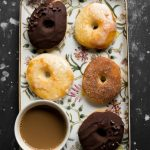 These BAKED Yeast Donuts are so unbelievably super soft, not to mention considerably low-fat (made with 2% milk, butter-less, eggless, BAKED)