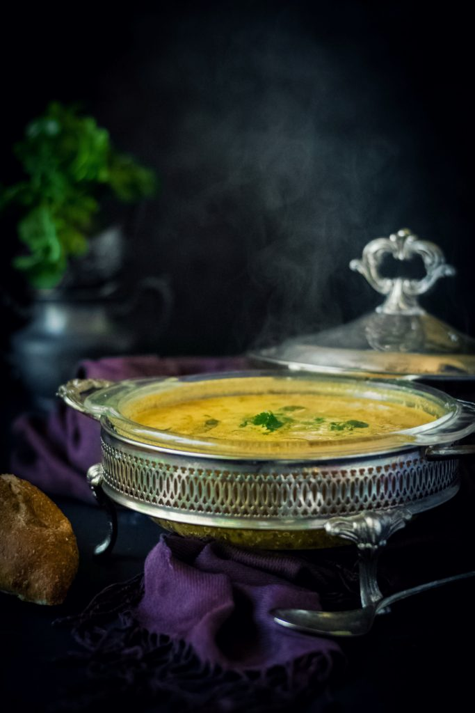 Channa Masala in drinkable form, this Chickpea Quinoa Soup is fragrant, flavorful and rich, not to mention completely VEGAN!