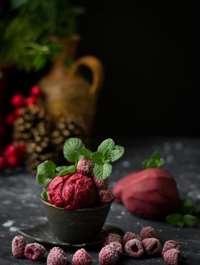 Rose Beetroot Sorbet