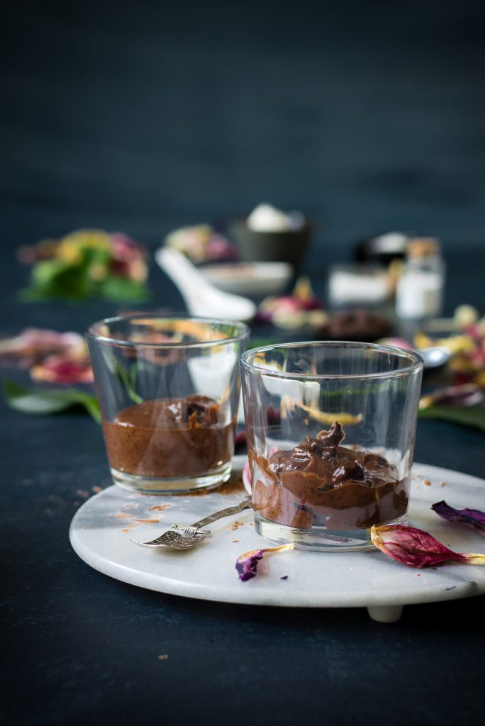 VEGAN Microwave Chocolate Cupcakes for two - dairy-free, plant-based dessert for two in a minute to sate the most intense chocolate cravings!