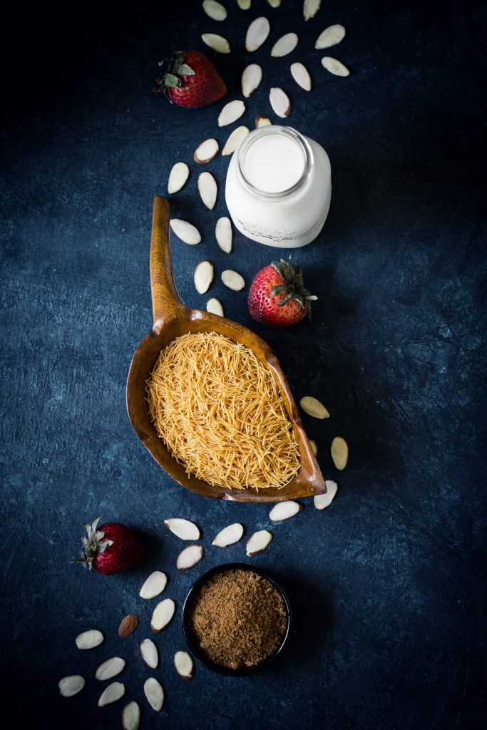 Vermicelli in Coconut milk - sounds simple, more like a dessert, but it is one of my favorite breakfasts. 5 ingredients. Vegan.