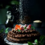 Chocolate Sweet Potato Waffles (V + GF)