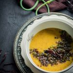 Garlic Scape Dal (Lentil Curry)