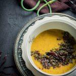Garlic Scape Dal (Lentil Curry)