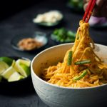 {VEGAN} Mandalay Curry noodles