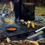 Fall Cookout + Banana Pancakes w/ Cardamom Jaggery Syrup