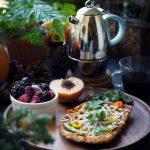 Vegan Breakfast Pizza Toast