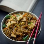 Stir Fried VEGAN Yakisoba Noodles