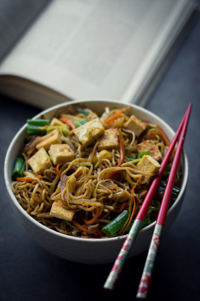 Ironically, these Japanese VEGAN Yakisoba Noodles are the closest thing to the best Indo-Chinese noodles I've made at home in 20 minutes!