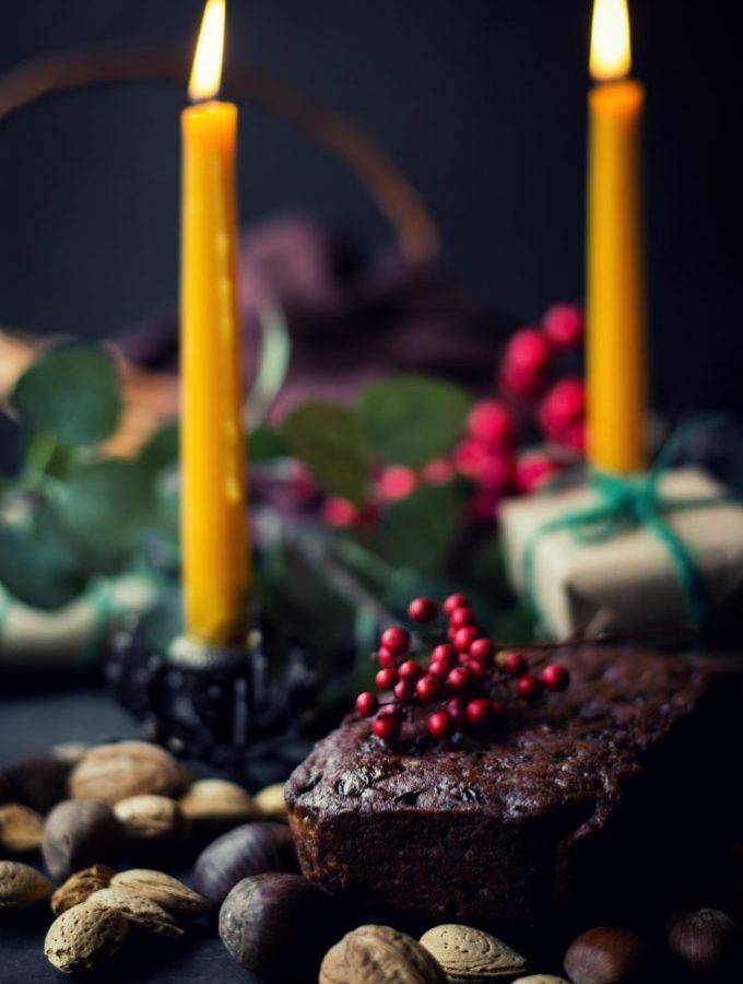 VEGAN Christmas Fruit Cake