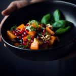 Winter Fruit Salad with Peach Cider dressing