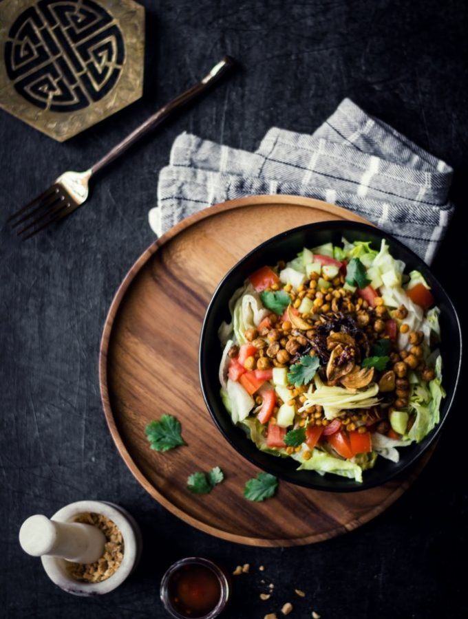 Burmese Gin Thoke (Ginger Salad)