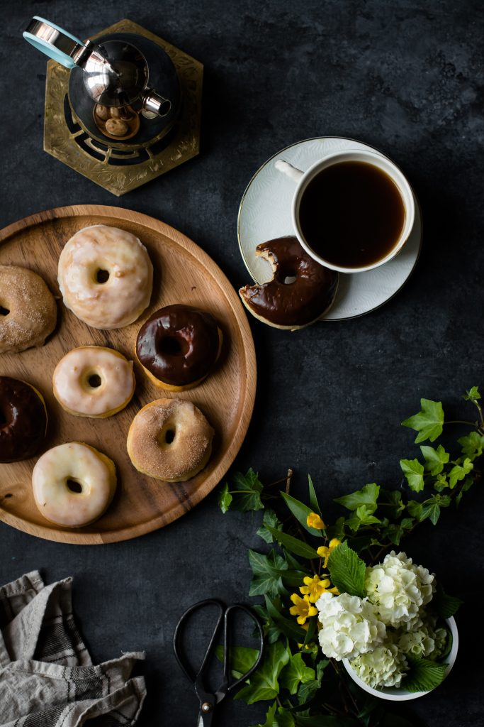 Super Soft BAKED Yeast Donuts {Eggless} - Love is in my Tummy