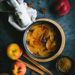 Spiced Peach Iced Tea [Non alcoholic]