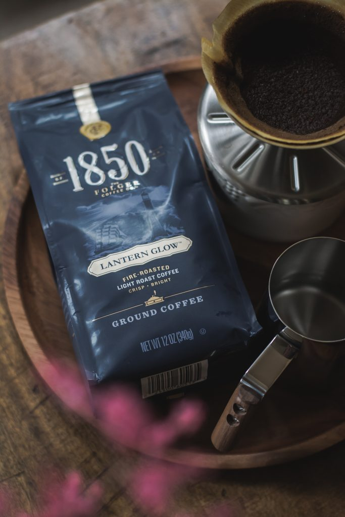 A day in the life of a food blogger begins with a bold cup of #1850Coffee from Target. #ad #1850CoffeeatTarget #Pmedia #foodphotography #foodstyling