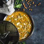 VEGAN Spinach Chickpea Coconut Curry