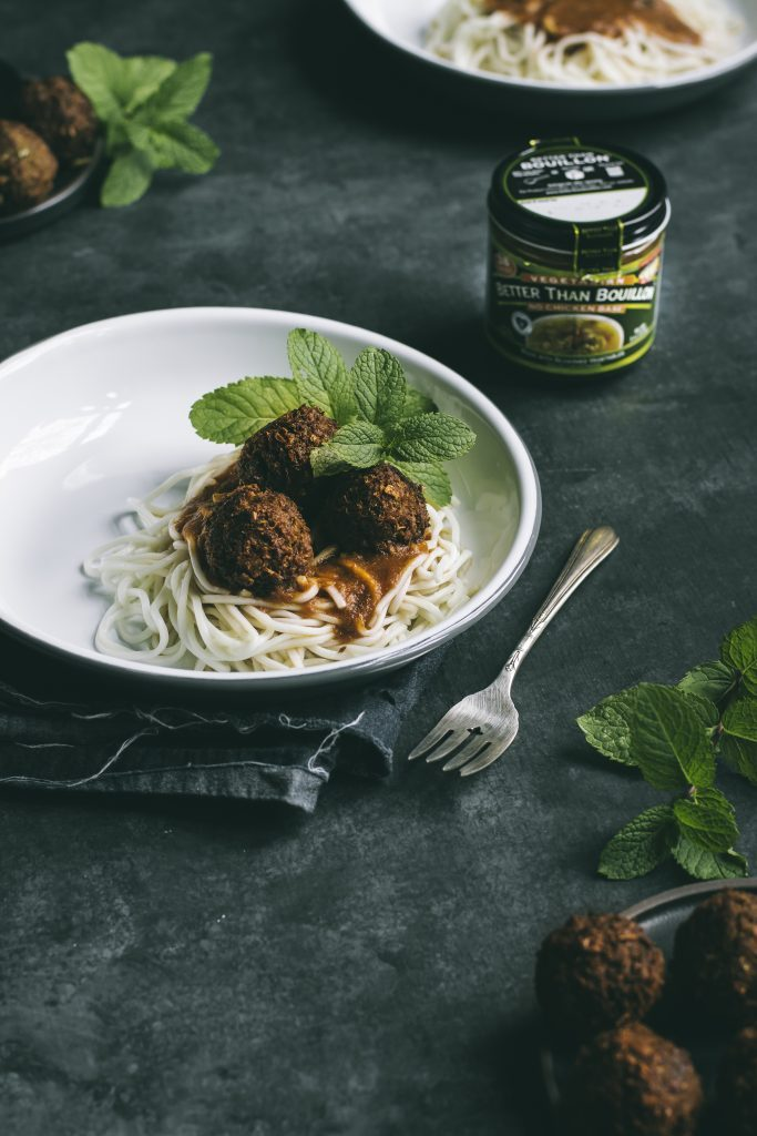If you crave the chewy texture of meat, & lentil meatballs just didn't make the cut, these VEGAN Curried 'meatless' Meatballs are the answer.
