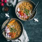 Easy Harissa Garlic Ramen