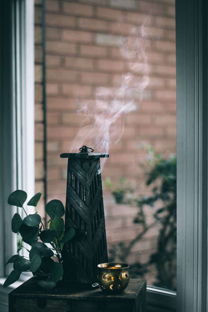 Incense/Candles are a great green swap to chemical/liquid air fresheners. that require refills.