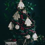 VEGAN Christmas Tree Ornament Cookies