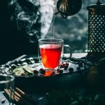 Simple Cranberry Hibiscus Tea