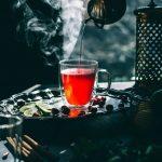Simple Cranberry Hibiscus Tea