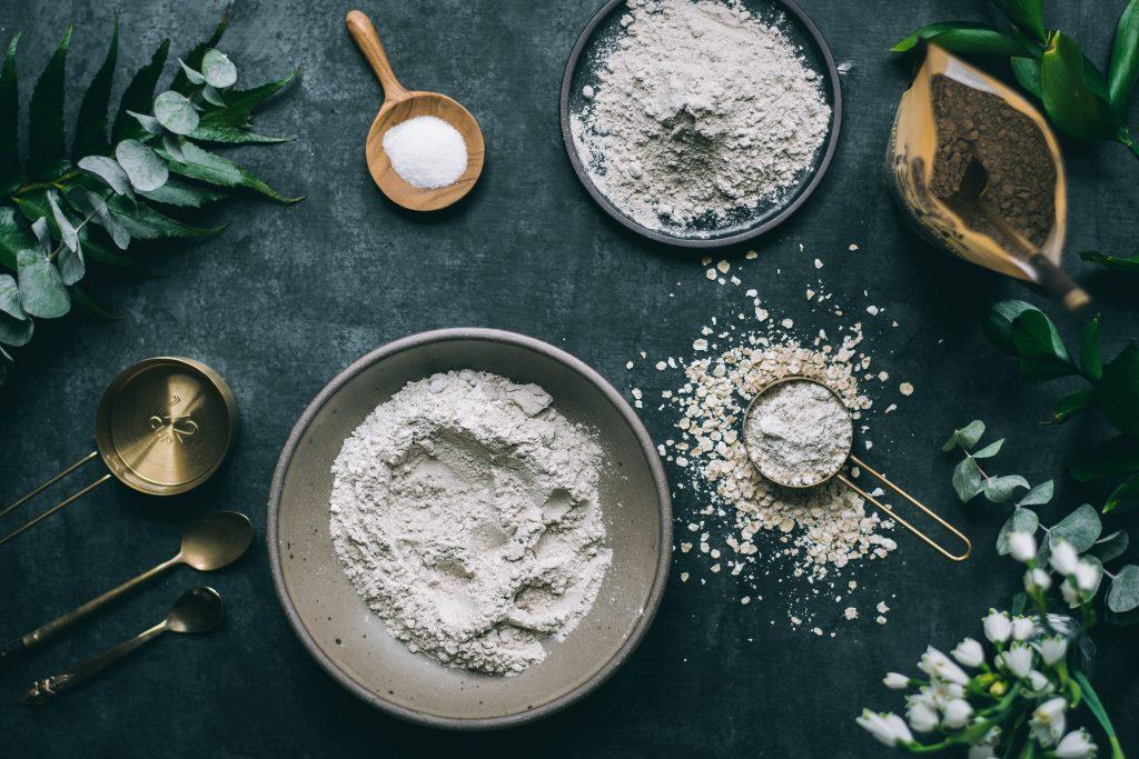 Making of Teff Rotis - a GF + Vegan flatbread