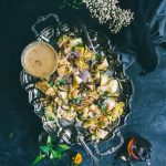 VEGAN Burmese Potato Salad with Green mango