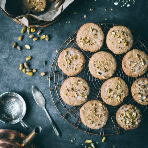 Teff Digestive Pistachio Biscuits