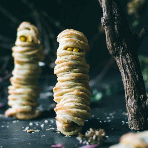 Vegetable Puff Mummies