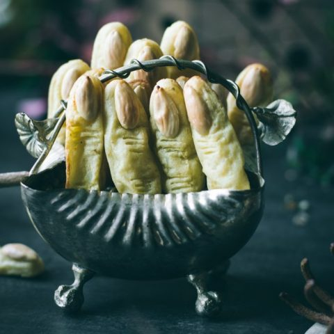 BAKED Potato Witch 'Fingers'