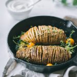 [V + GF] Hassleback Potatoes for two