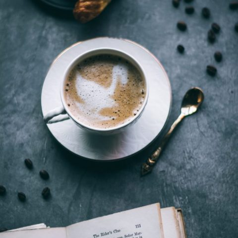 VEGAN Mocha Hazelnut Cappuccino
