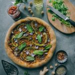 [V] Minced Meatless Kheema Pizza