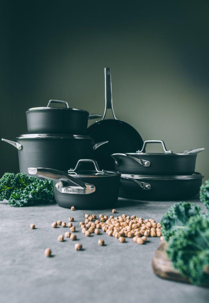 Calphalon Premier™ Hard-Anodized Nonstick 11-Piece Cookware Set