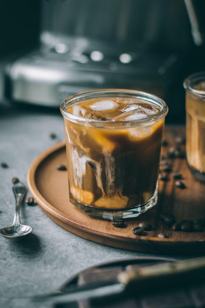 VEGAN Iced Mocha Latte
