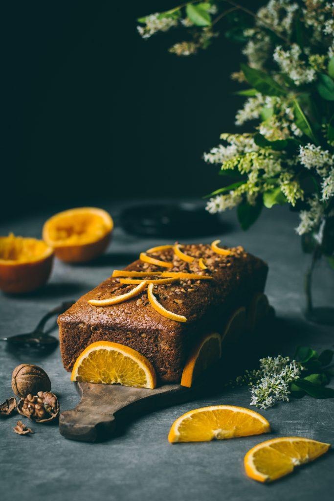 VEGAN Blender Orange Cake