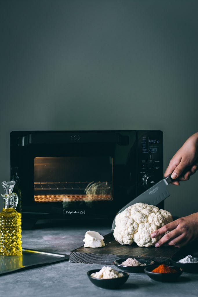 Making Cauliflower Steaks