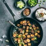 Crispy Chilli Garlic Tofu + Cookware Giveaway!
