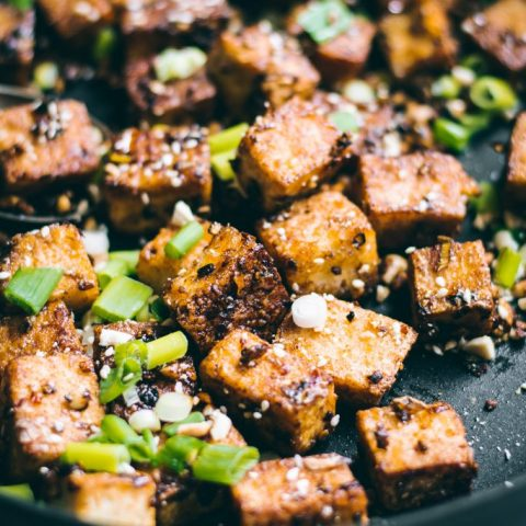 Crispy Chilli Garlic Tofu