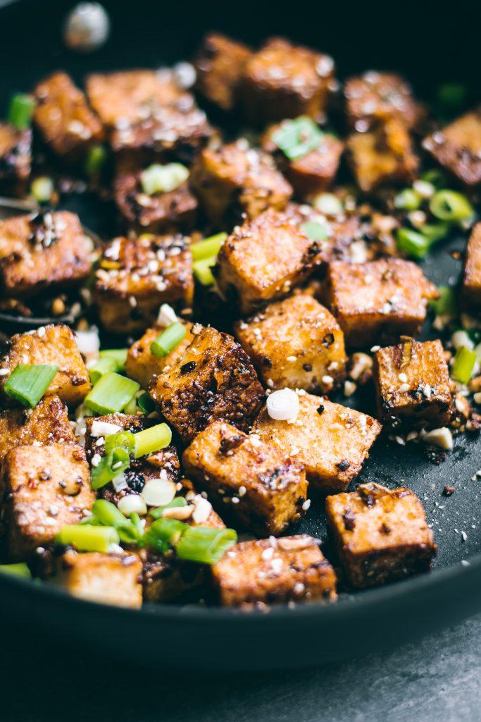 Crispy Chilli Garlic Tofu