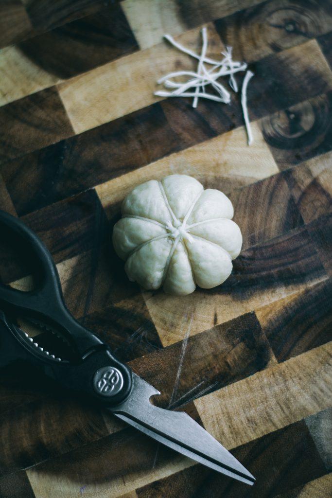 Shaped VEGAN Pumpkin Shaped Rolls