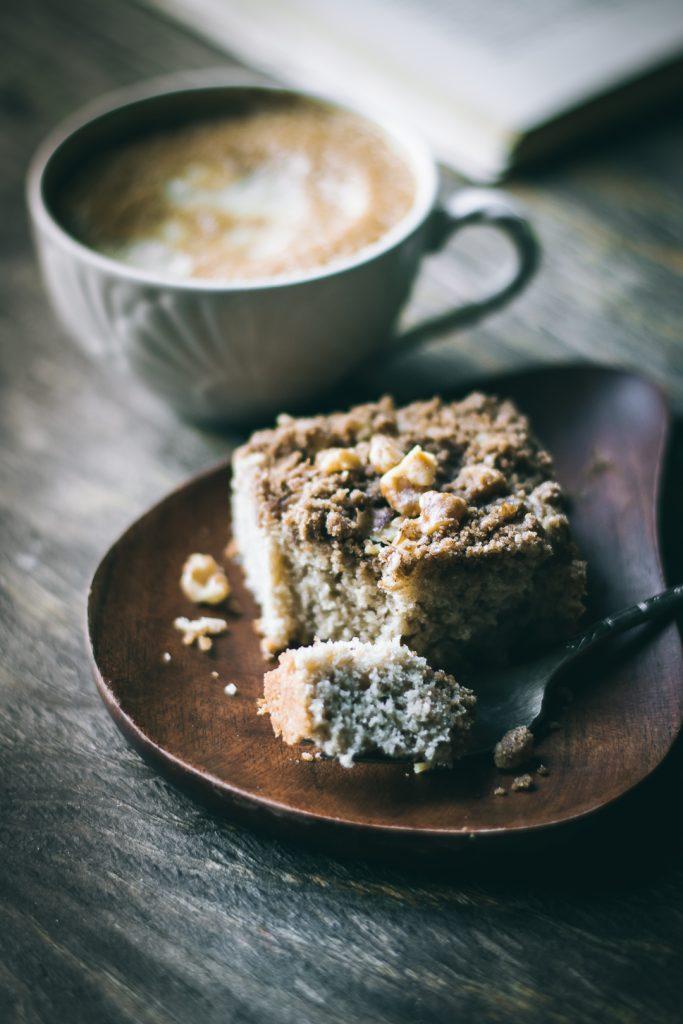 VEGAN Teff Coffee Cake