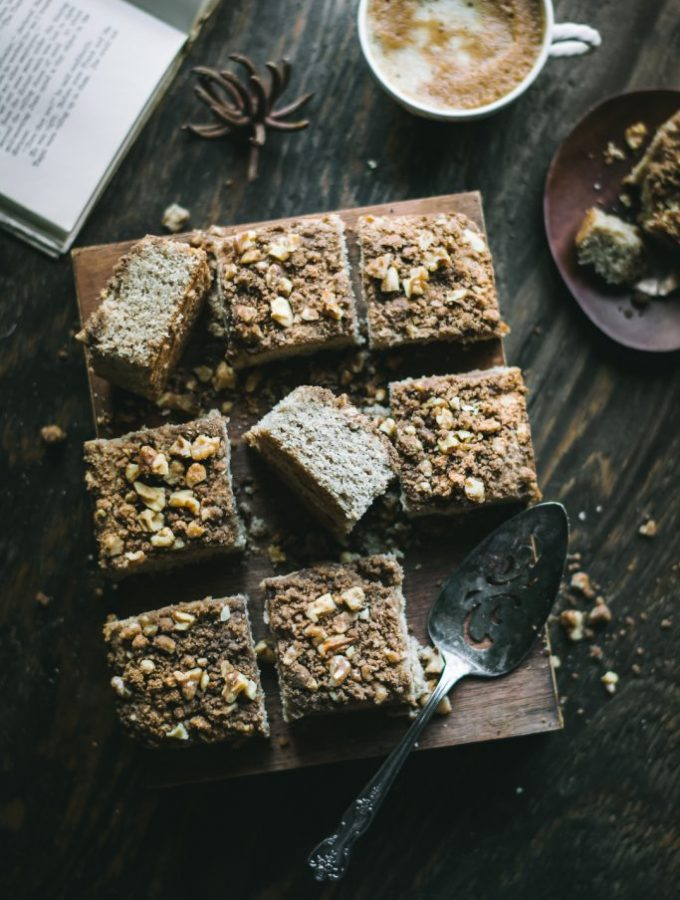 VEGAN Teff Coffee Cake