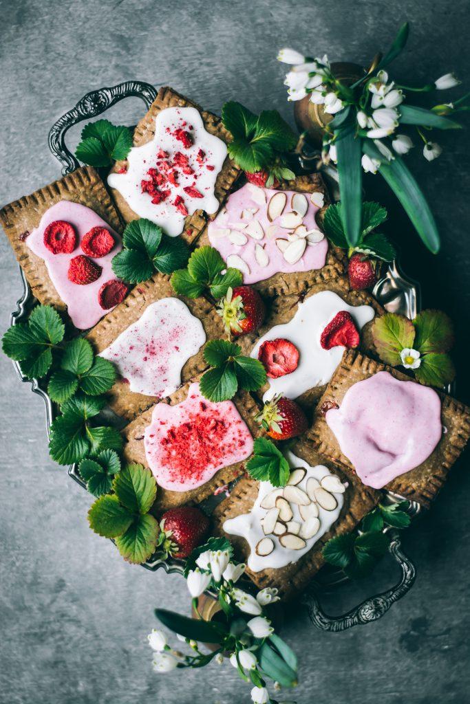 Teff Strawberry Pop Tarts